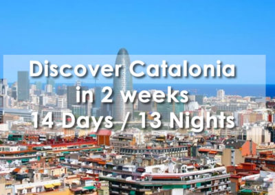 Discover Catalonia in 2 weeks