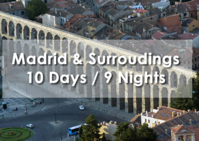 Madrid & Surroudings
