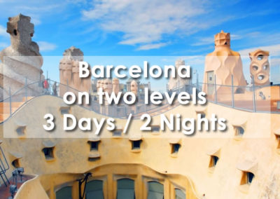 Barcelona on two levels
