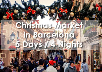 Christmas Market in Barcelona
