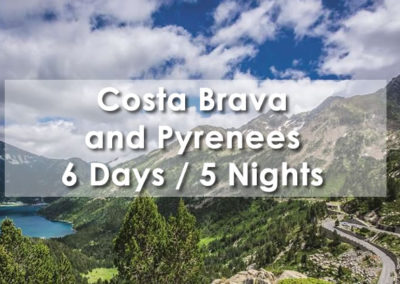 Costa Brava & Pyrenees – Plane and local coach
