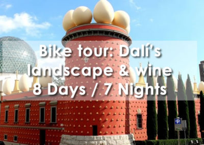 Bike Tour: Dalí's landscape & wine