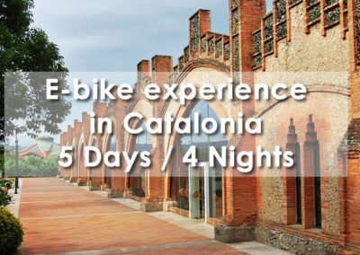 E-bike experience in Catalonia