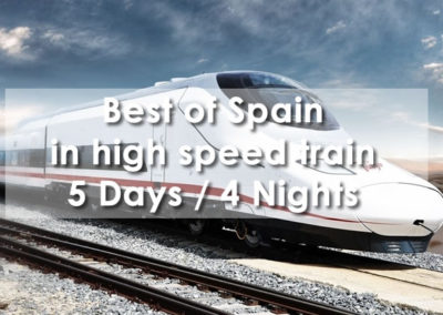 Best of Spain in high speed train