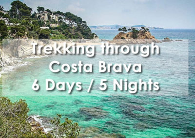 Trekking though Costa Brava