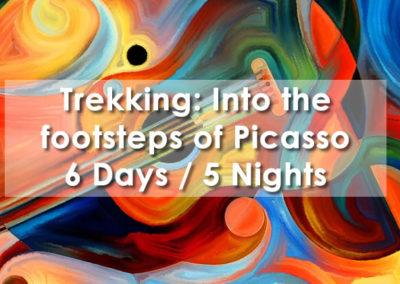 Trekking: In the footsteps of Picasso