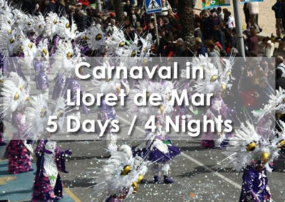 Carnival in Lloret de Mar